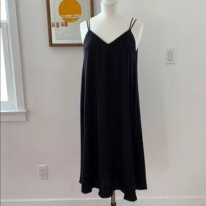 & other stories midi slip dress